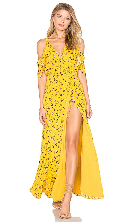 Privacy Please x REVOLVE Acme Dress in Yellow