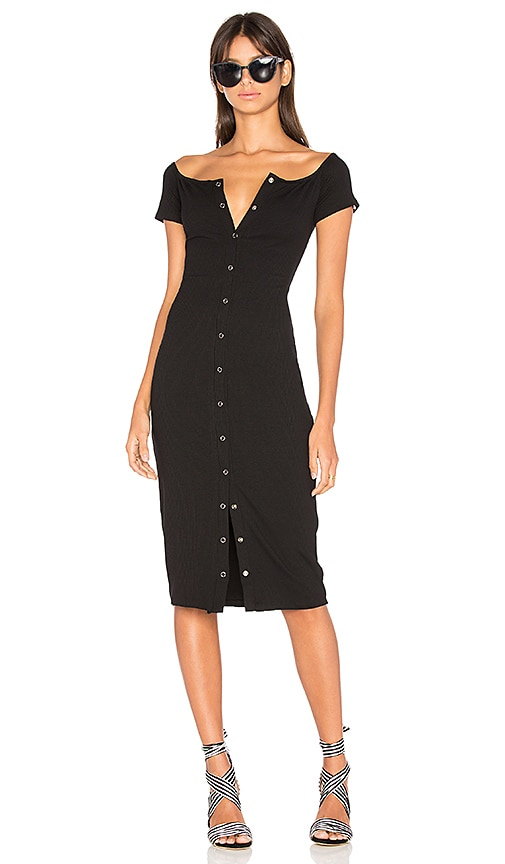 Privacy Please Rue Dress in Black