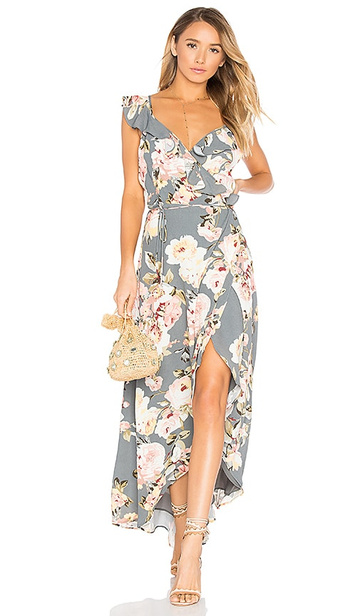 Privacy Please Fillmore Dress in Gray