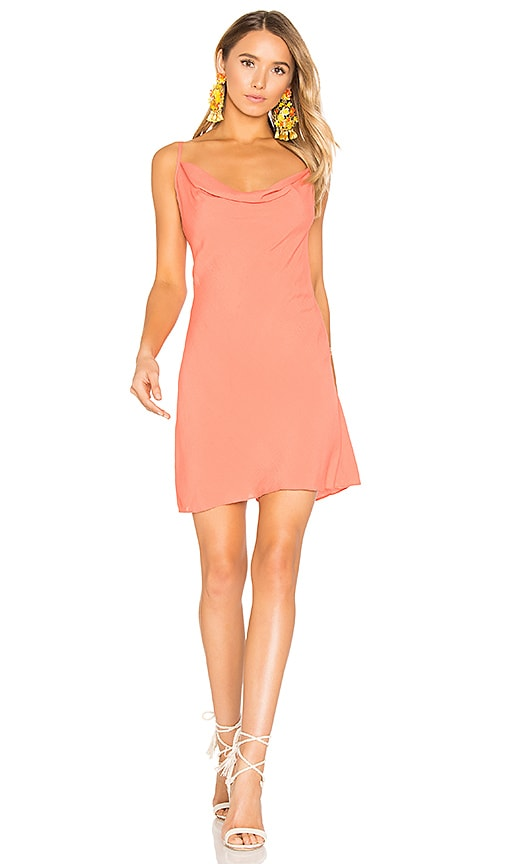 Privacy Please Ozark Dress in Orange