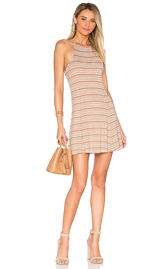 Privacy Please Holly Dress in Tan
