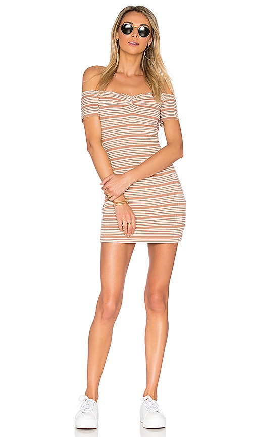 Privacy Please Coolidge Dress in Tan