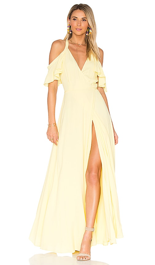 Privacy Please Acme Dress in Yellow
