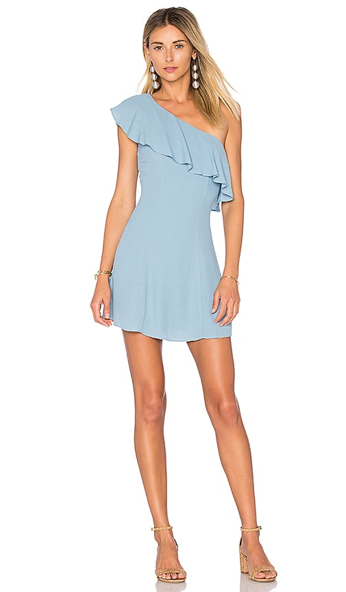 Privacy Please x REVOLVE Tate Dress in Blue