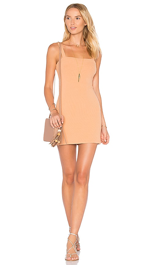 Privacy Please x REVOLVE Bradian Dress in Beige