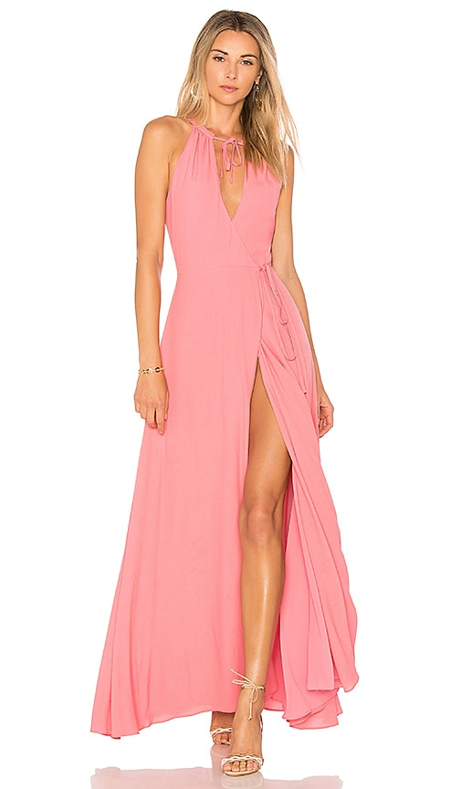Privacy Please Cambio Maxi Dress in Pink