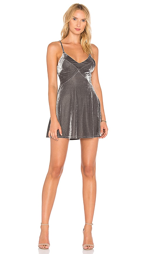Privacy Please X REVOLVE Maisie Dress in Gray