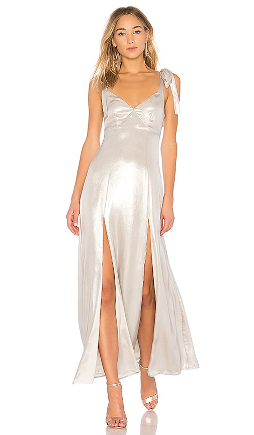 Privacy Please X REVOLVE Jupiter Dress in Silver