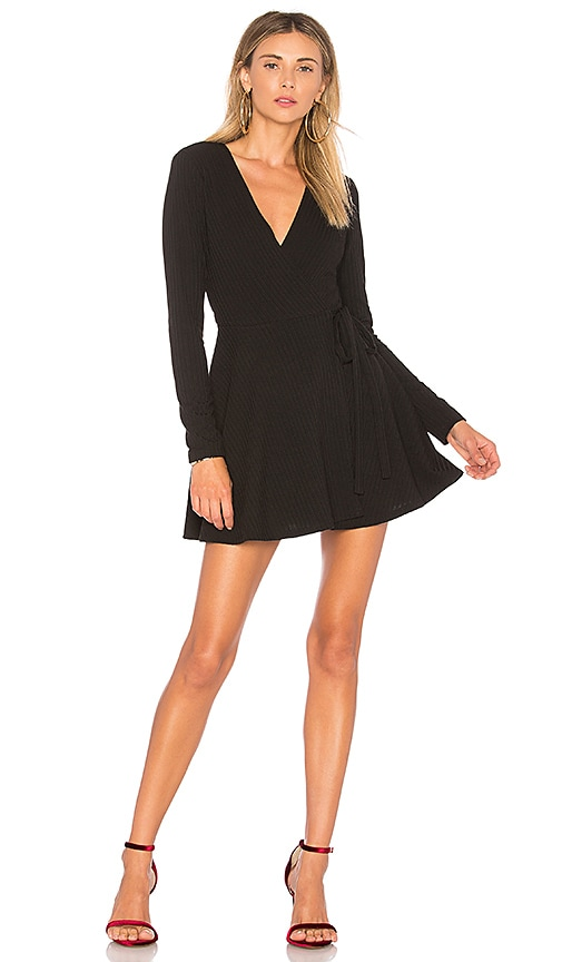 Privacy Please Calla Dress in Black