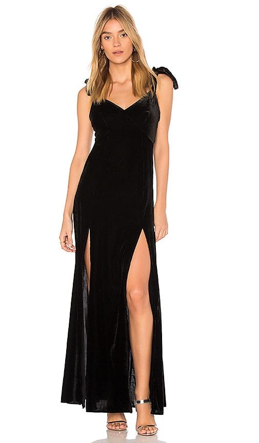 Privacy Please Jupiter Dress in Black
