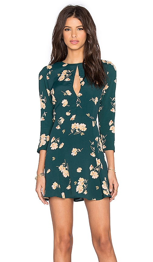 Privacy Please Hendrix Dress in Green