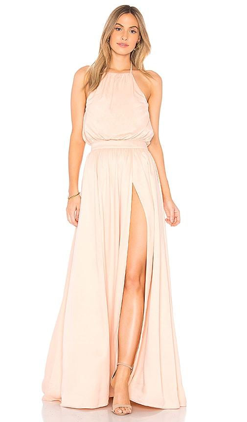 Khloe Gown In Blush. Robe Khloe En Rougir. - Size Xs (also In L,m,s,xxs) Privacy Please - Taille Xs (également Dans L, M, S, Xxs) Vie Privée S'il Vous Plaît