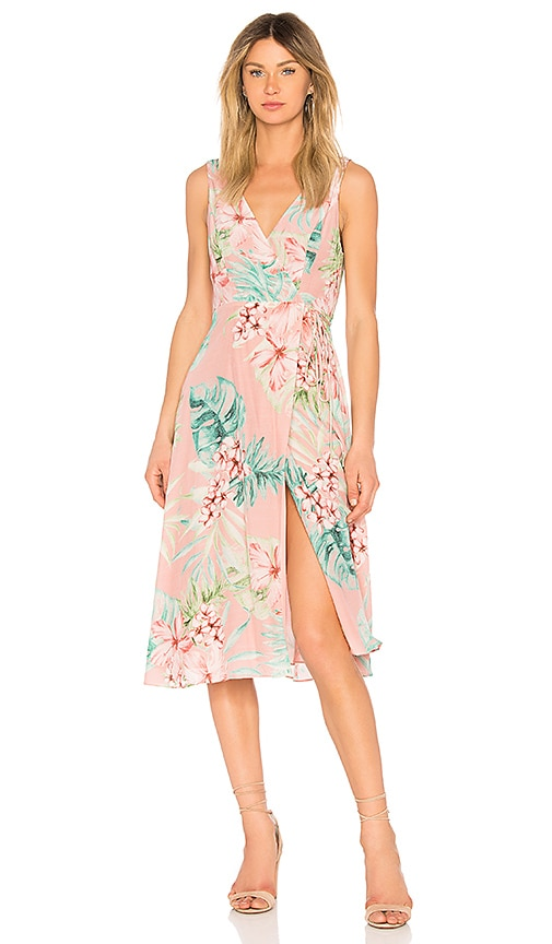 Privacy Please Wilson Dress in Coral