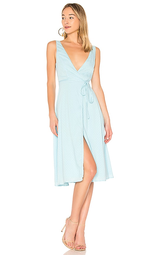 Privacy Please Wilson Dress in Baby Blue