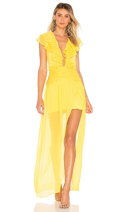 Aughra Gown in Yellow. - size M (also in L,S,XS,XXS) Privacy Please