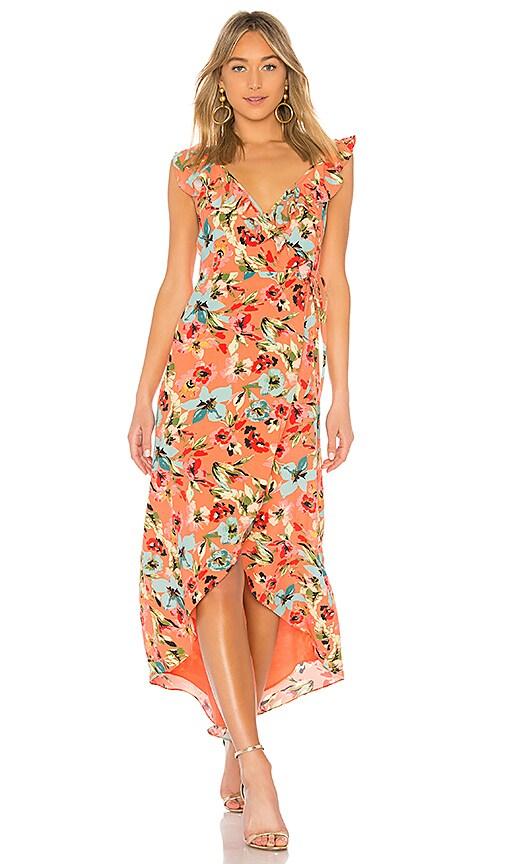 Privacy Please Fillmore Dress in Coral