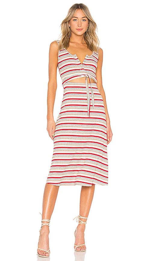 11b88aa3108b Privacy Please Malone Dress in Verano Stripe
