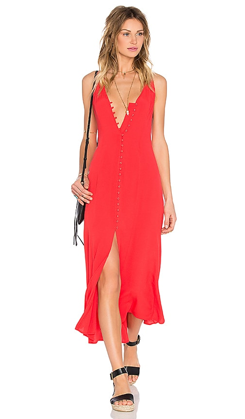 Privacy Please Lomax Dress in Red