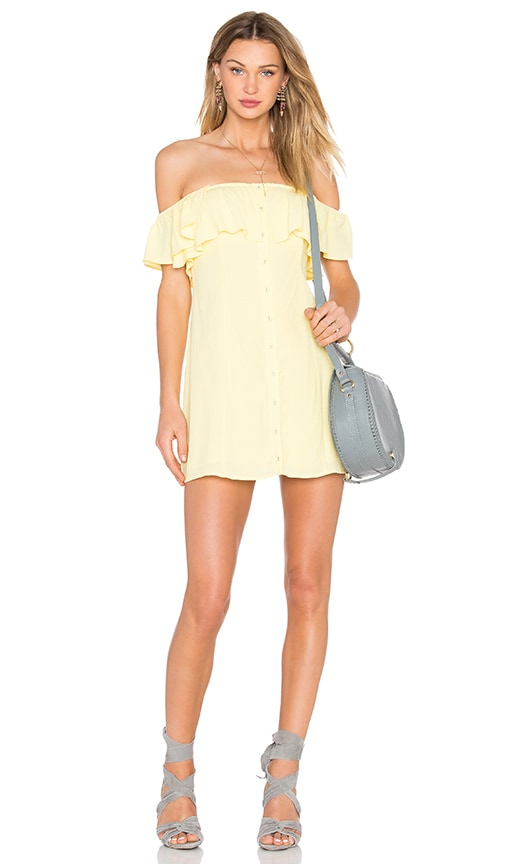 Privacy Please Norval Dress in Yellow