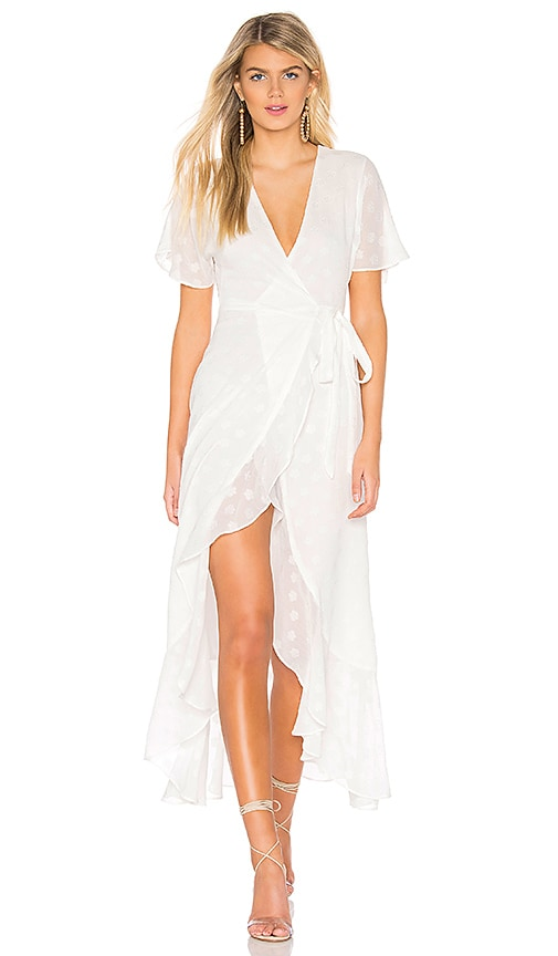Privacy Please Alaina Maxi Dress in White | REVOLVE