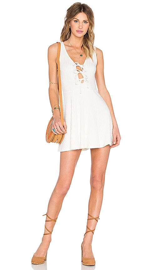 Privacy Please Melva Dress in Ivory