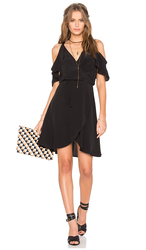 Privacy Please Delta Dress in Black