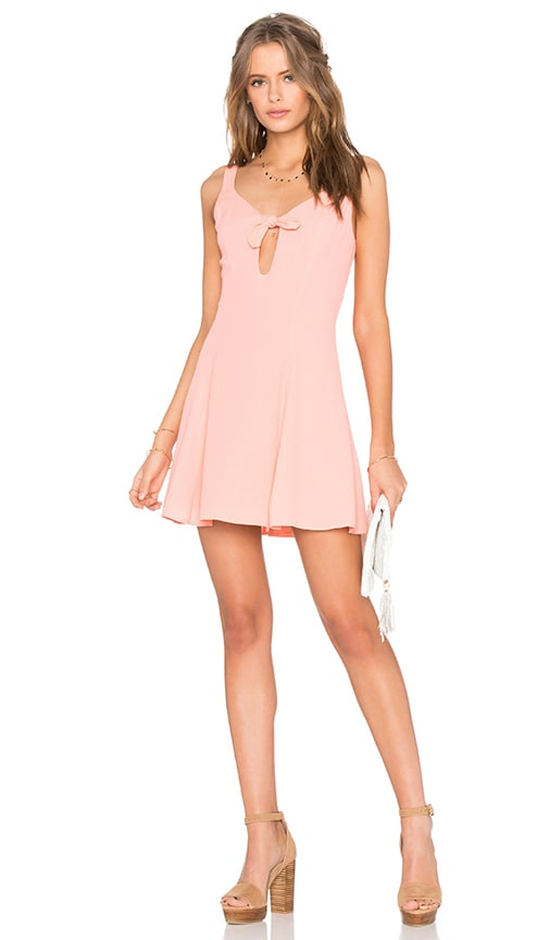 Privacy Please Ravana Dress in Coral