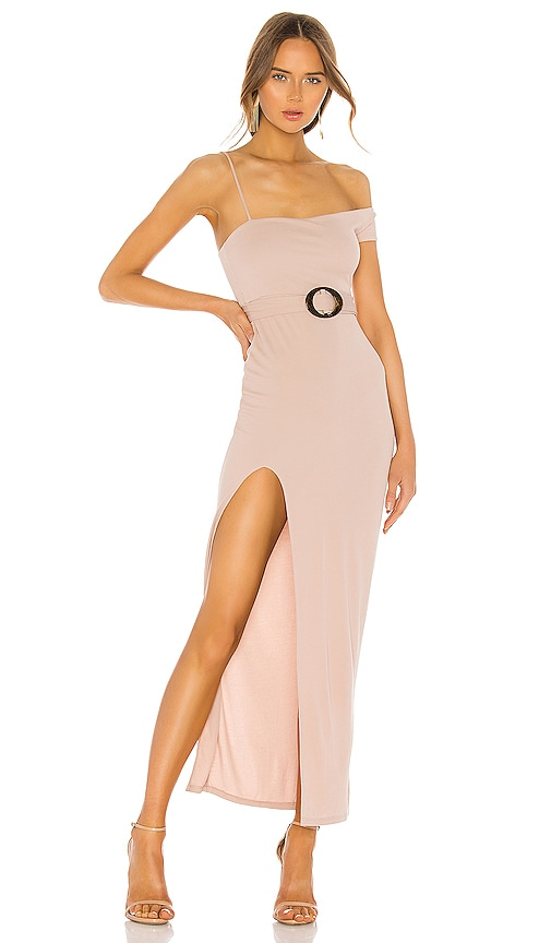 Privacy Please Remy Maxi Dress in Taupe | REVOLVE