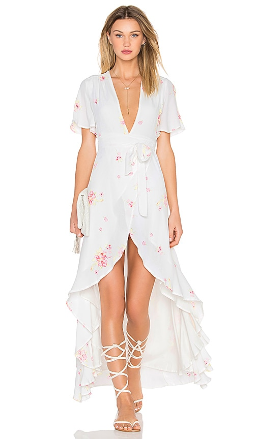 Privacy Please Krause Dress in White