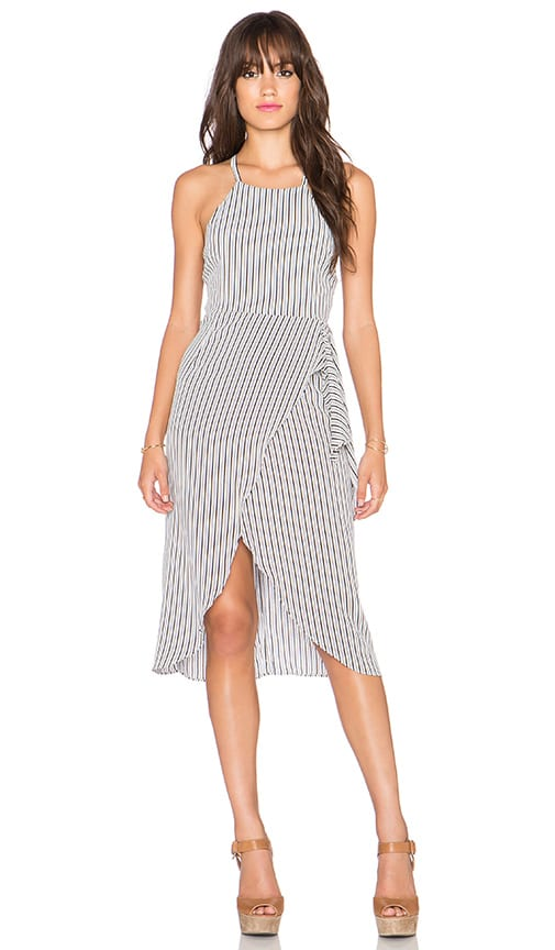 Privacy Please Nassau Wrap Dress in Federal