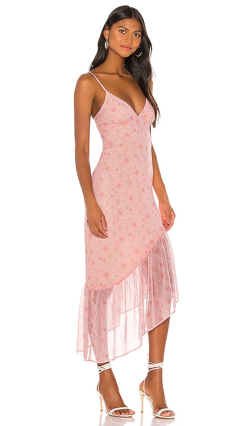 Privacy Please Hana Maxi Dress in Pink Gabriela Floral