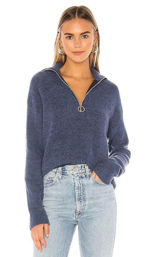 Harvey Zip Up Sweater