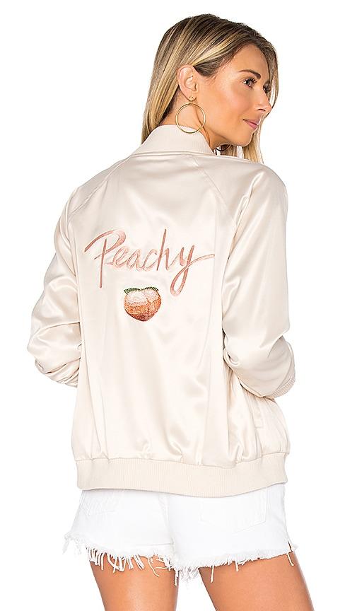x REVOLVE Peachy Bomber