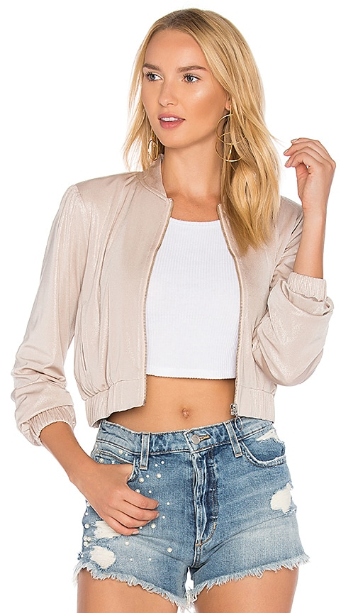 Privacy Please X REVOLVE Boulevard Bomber in Cream