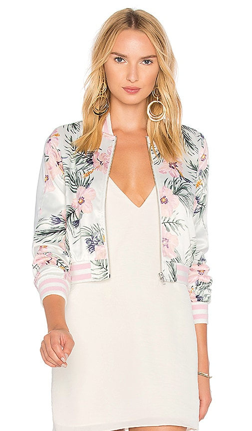 Privacy Please x REVOLVE Lexie Bomber in Ivory