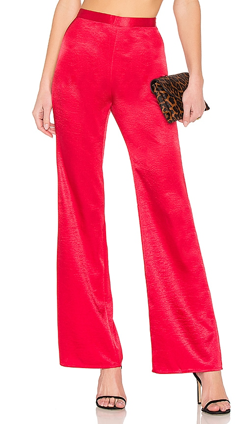 Privacy Please Lynder Pant in Red