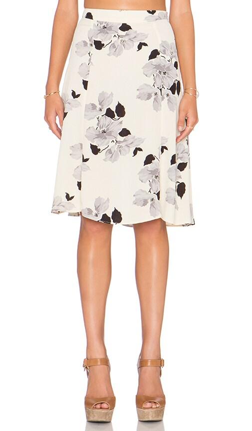 Privacy Please Lafayette Midi Skirt in Claudette