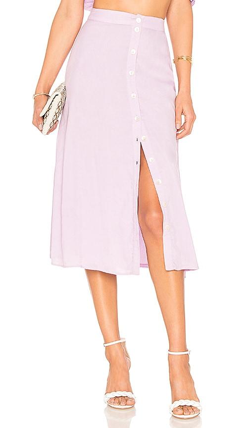 Privacy Please Dizon Midi Skirt in Purple