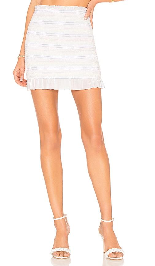 Privacy Please Woodbridge Skirt in White