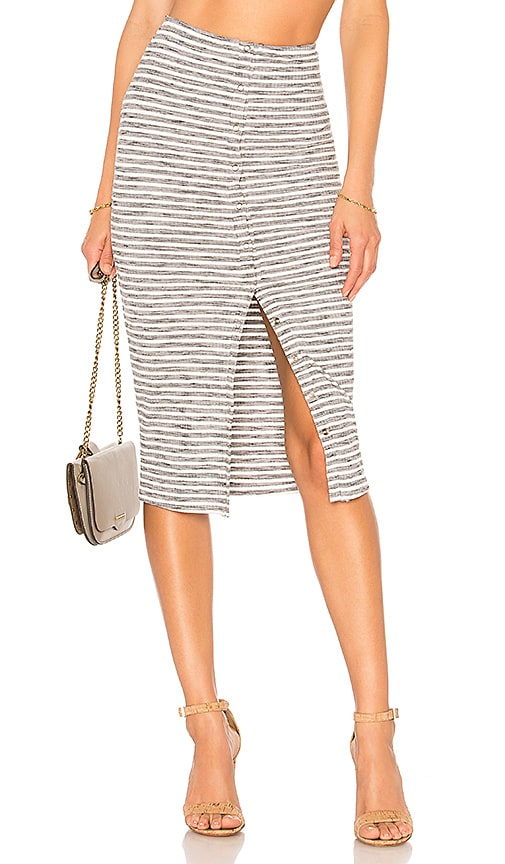 Privacy Please Hopewell Skirt in Gray