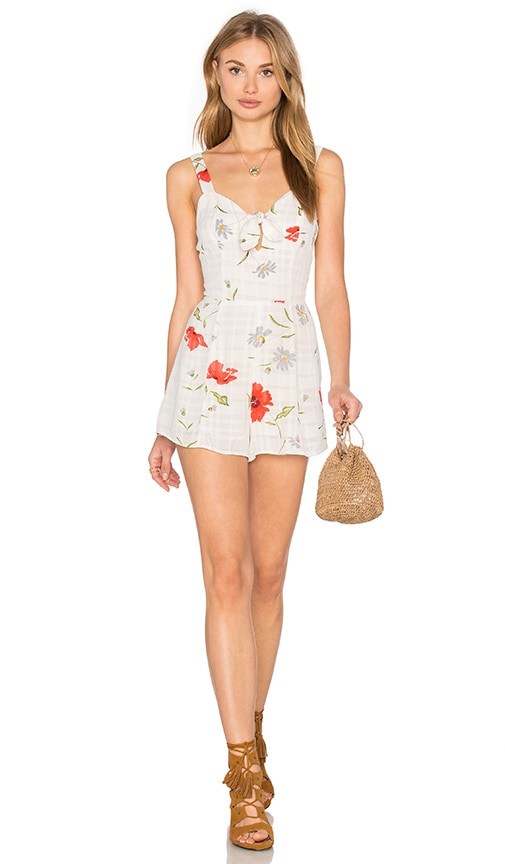 Privacy Please x REVOLVE Avena Romper in White