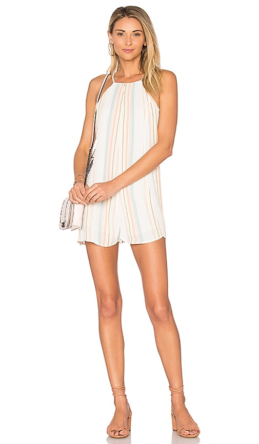 Privacy Please Lucca Romper in White