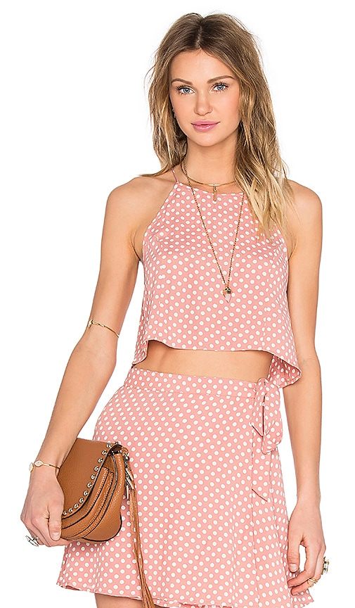 Privacy Please Silica Top in Pink