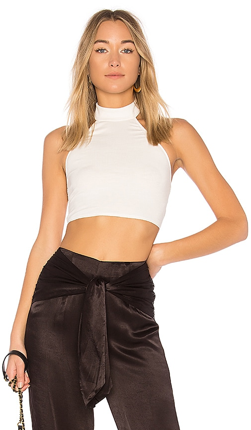 Privacy Please x REVOLVE Forts Crop Top in Ivory