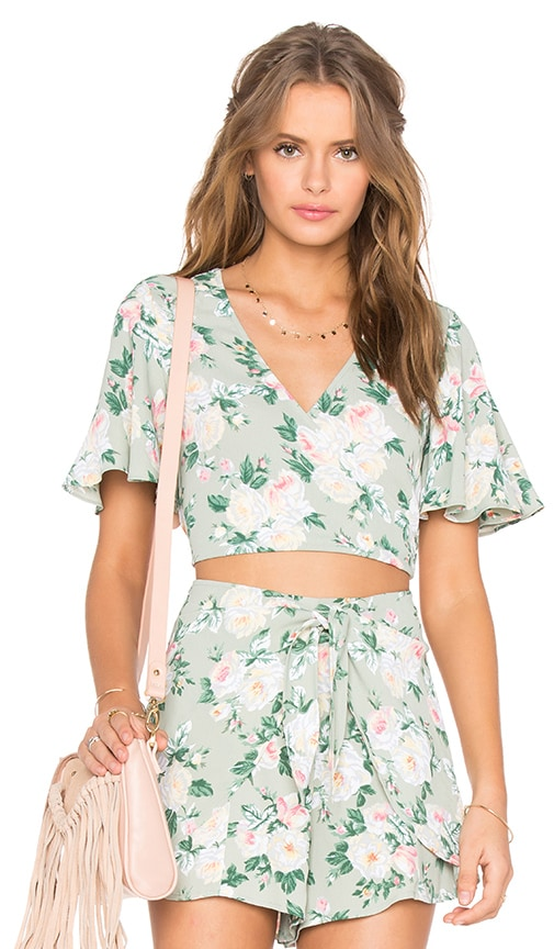 Privacy Please Zorn Top in Green
