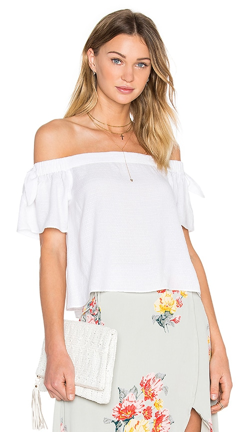 Privacy Please Asay Top in White