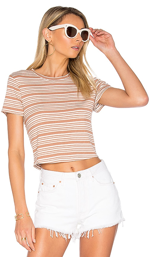 Privacy Please Linton Tee in Tan