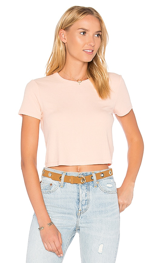 Privacy Please x REVOLVE Linton Tee in Blush