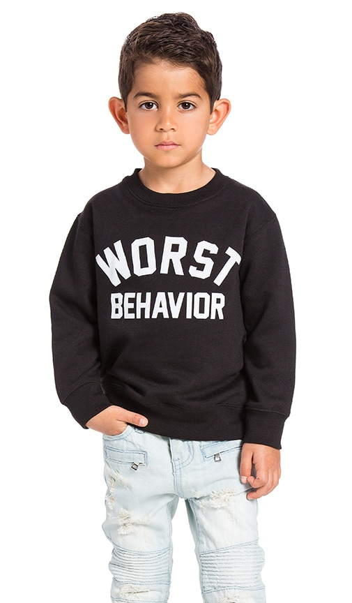 Worst Behavior Sweatshirt