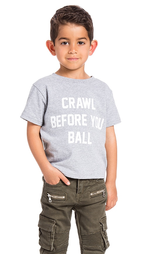 Private Party Crawl Before You Ball Shirt in Grey
